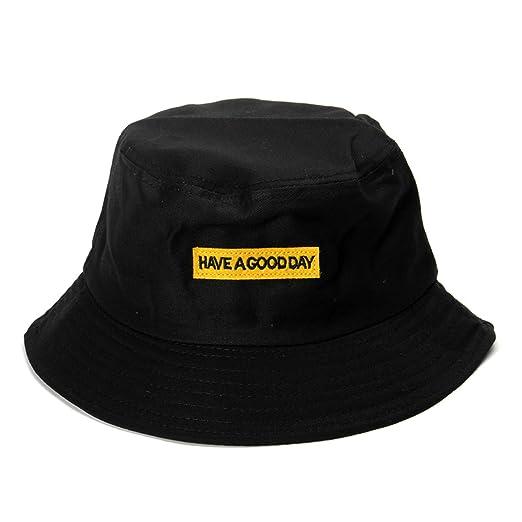 HEWPASKE Letter Embroidery Bucket Hats Men Fisherman Hats Outdoor ... 981a049cc