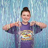 Vacation Bible School (VBS) 2018 Rolling River Rampage Iridescent Decorating Curtain: Experience the Ride of a Lifetime with God!