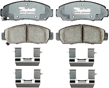 Disc Brake Pad Set-Advanced Technology Ceramic Disc Brake Pad Front Raybestos