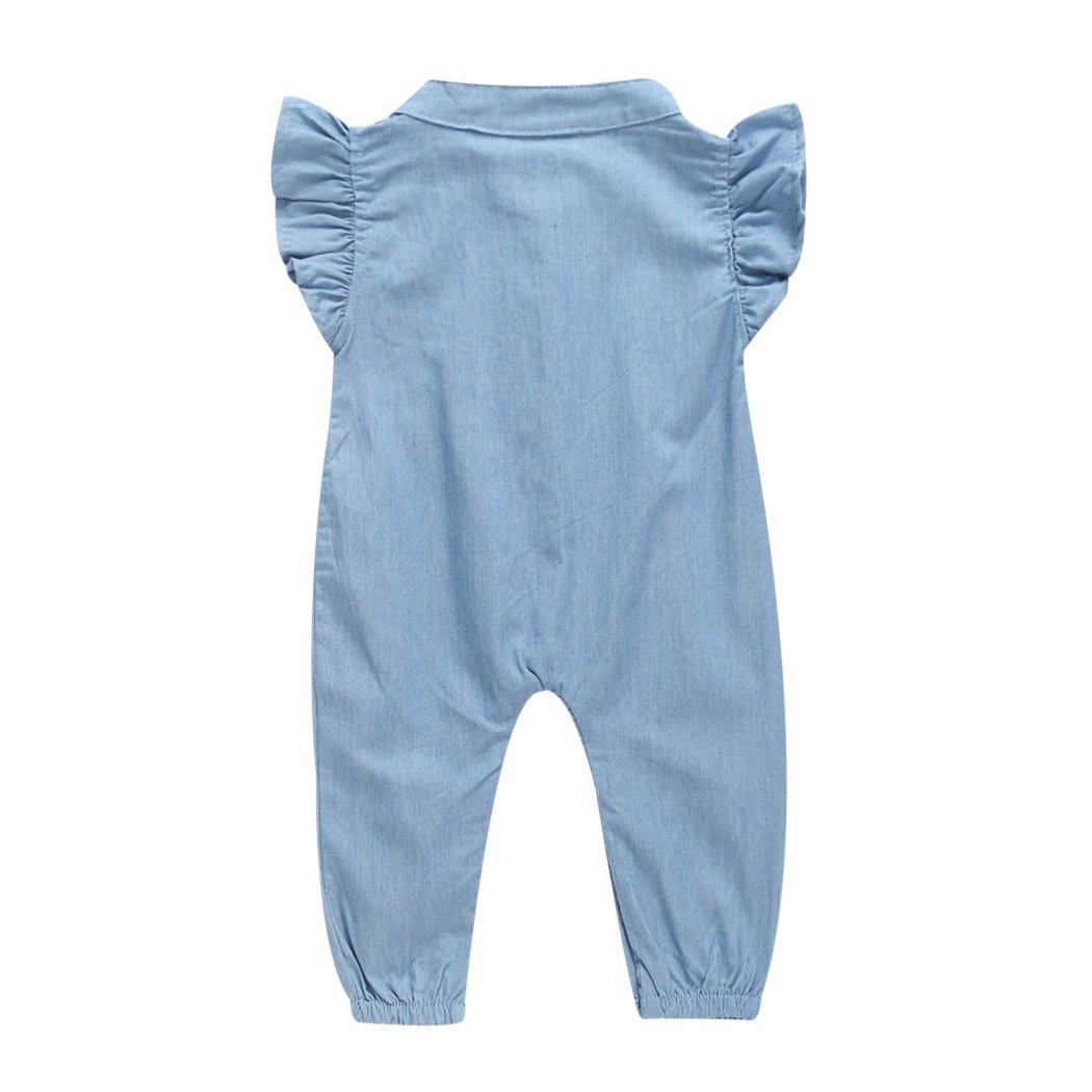 718db4688 Amazon.com  MIOIM Newborn Infant Toddler Baby Girls Ruffled ...