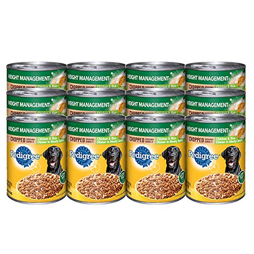 pedigree-meaty-ground-dinner-weight-management-with-chicken-rice-wet-dog-food-132-oz-12-count