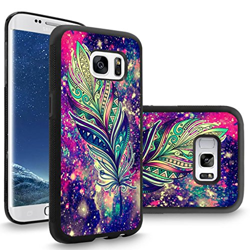 - Samsung S8 Plus Case Customized Black Soft Rubber TPU Case For Galaxy S8 Plus Case Black Printing totem peacock feather