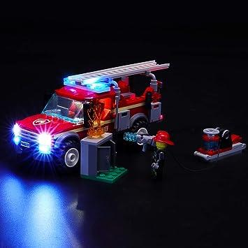 BRIKSMAX Kit de Iluminación Led para Lego City Town Camión de Intervención de la Jefa,Compatible con Ladrillos de Construcción Lego Modelo 60231, Juego de Legos no Incluido: Amazon.es: Juguetes y juegos