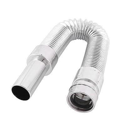 kitchen drain pipe tail kitchen bathtub flexible retractable sink basin water drain pipe tube