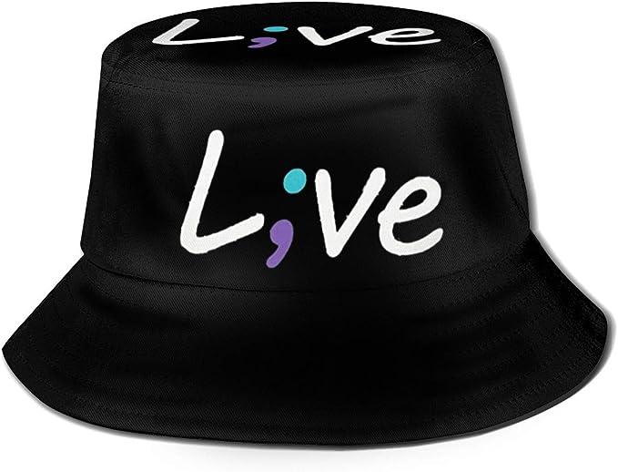 FEIHAT - Gorra de pescador unisex, diseño de letra en vivo ...