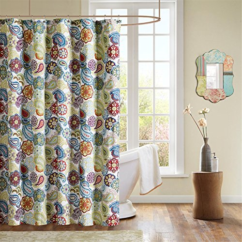 Mizone MZ70 169 Tamil Shower Curtain product image