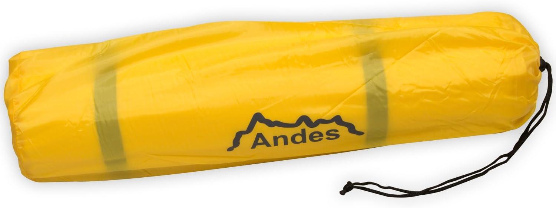 Andes Explora Matelas simple autogonflant 2,5 cm