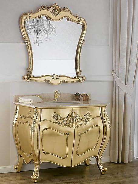 Mobili Da Bagno Barocco.Simone Guarracino Como E Specchio Anderson Stile Barocco Francese