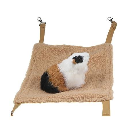 Hamaca para mascotas Emours, para colgar dentro de la jaula, para ...