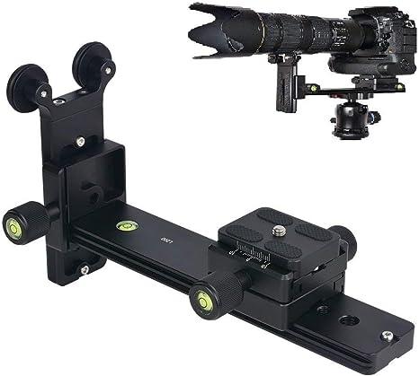 Hersmay L200 - Soporte para teleobjetivo (Zapata rápida, Soporte ...