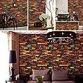 Wood Wallpaper Bedroom Living Room Kitchen Hotels Wall Decoration
