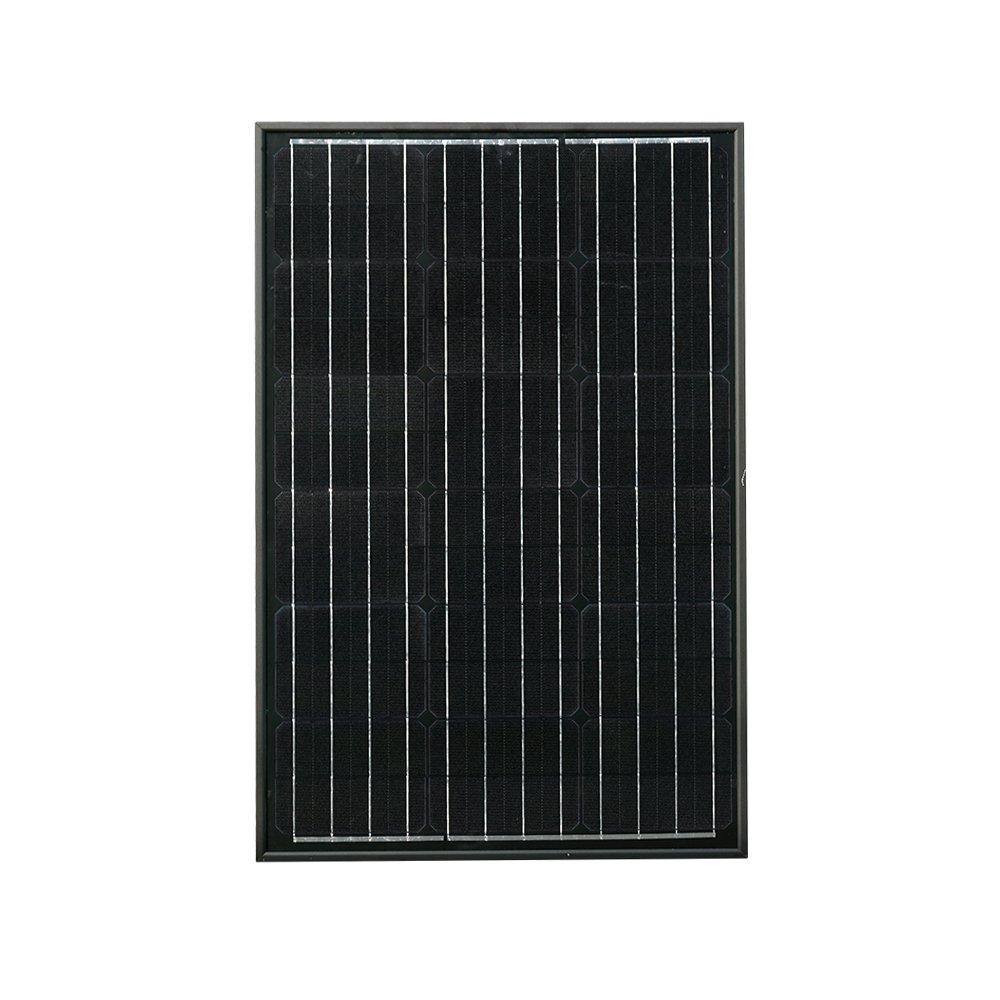 Ecoworthy 60 W pannello solare monocristallino fotovoltaico PV modulo per ricarica batteria da 12 Volt