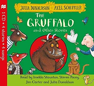 book cover of The Gruffalo and Other Stories