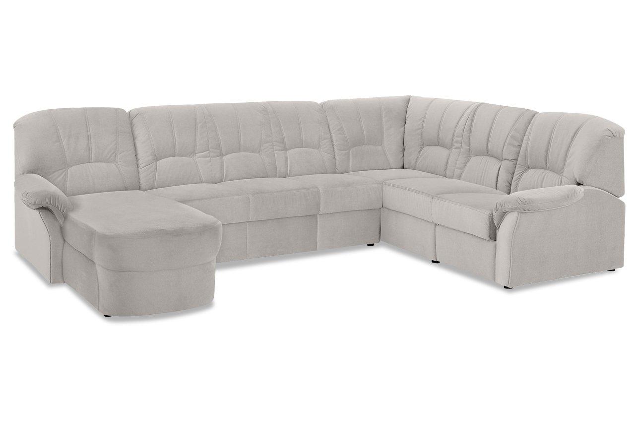 Sofa Wohnlandschaft Wesley Mit Relax Luxus Microfaser Buffalo
