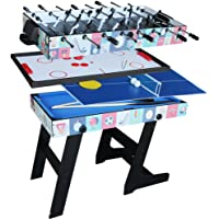 IFOYO Multi Function 4 In 1 Steady Combo Game Table, Hockey Table, Soccer