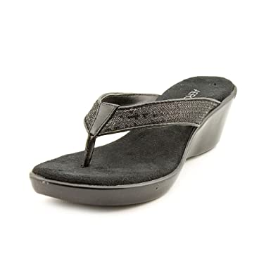 97afbac39c2 Aerosoles Wide Eyes Open Toe Wedge Sandals Shoes Womens New Display   Amazon.co.uk  Shoes   Bags