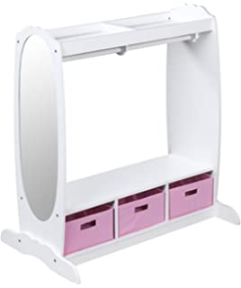 Beau Guidecraft Dress Up Storage   White