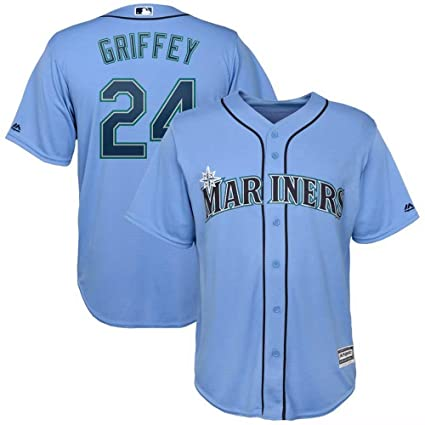 quality design 04950 50ad5 Amazon.com : '47 Baseball Jersey Seattle Mariners #24 ...