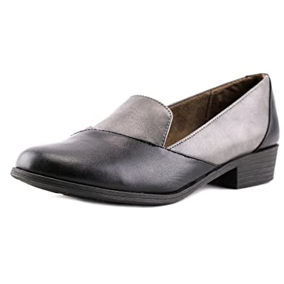 NaturalSoul by Naturalizer Vovo W Round Toe Leather Loafer