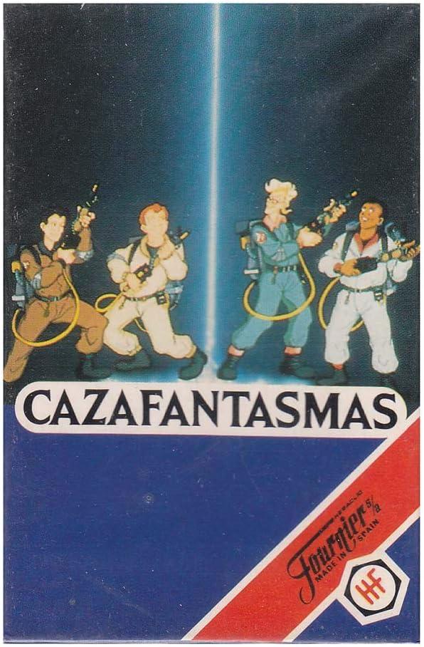 Naipes Heraclio Fournier Juego de Cartas Cazafantasmas 1992: Amazon.es: Juguetes y juegos