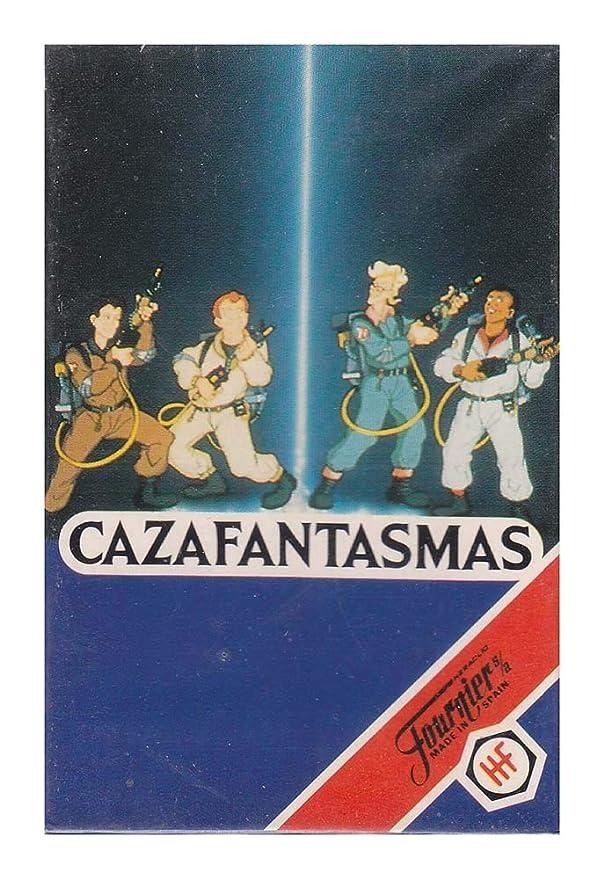 Naipes Heraclio Fournier Juego de Cartas Cazafantasmas 1992 ...