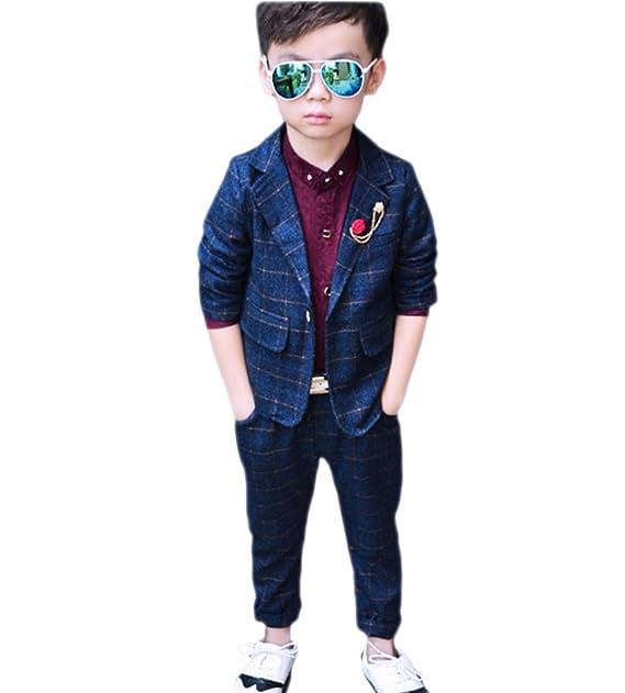 Amazon.com: Ocio Boy traje de baño dos piezas conjuntos de ...