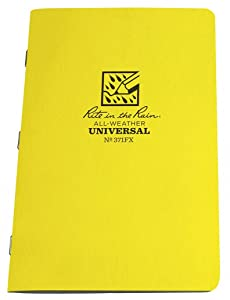 RITE in The RAIN All Weather Stapled Notebook, Unvrsl, pkg. of 3