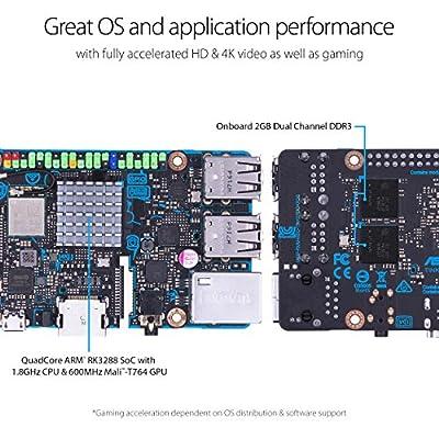 ASUS Tinker Board SoC 1.8GHz Quad Core CPU