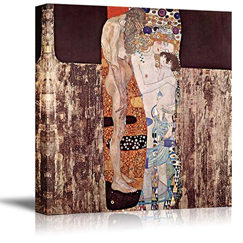 Three Ages Of Woman by Gustav Klimt Giclee ped Gallery