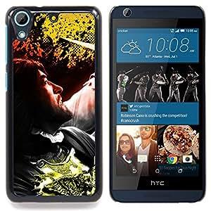 """Qstar Arte & diseño plástico duro Fundas Cover Cubre Hard Case Cover para HTC Desire 626 (Hombre"""")"""