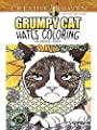 Creative Haven Grumpy Cat Hates Coloring: Coloring Book
