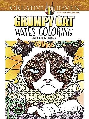 Creative Haven Grumpy Cat Hates Coloring: Coloring Book