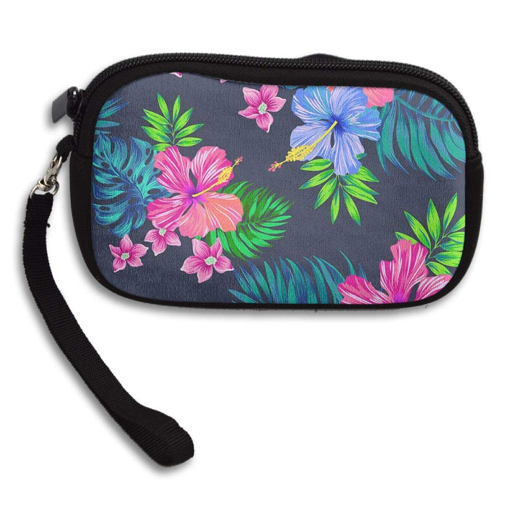 HACVREQ Unisex Personalized Wallet,Beautiful Flowers Purse Bag Woman Ladies Men Gentlemen