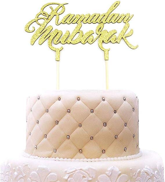 Salgirah Mubarak Cake Topper