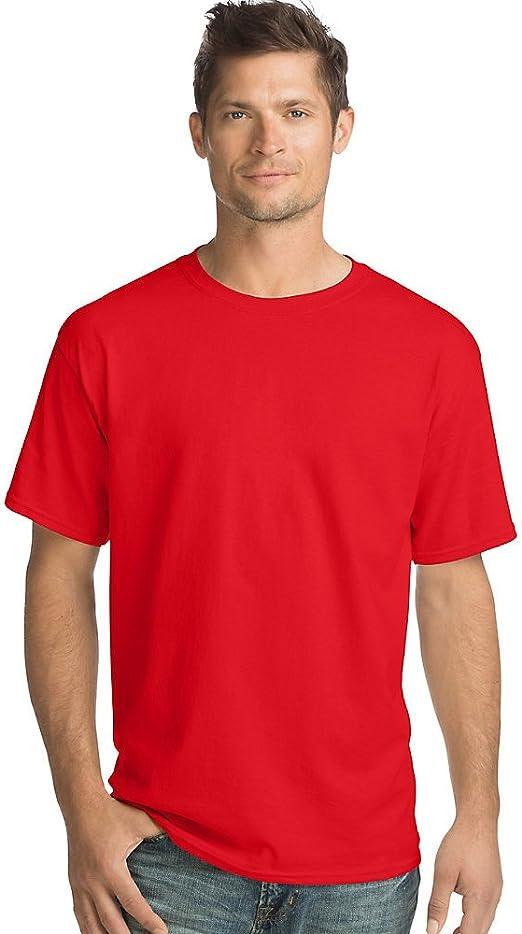 Men/'s Comfort Soft Sueded Jersey Short-Sleeve Crewneck Sports Running T-Shirt