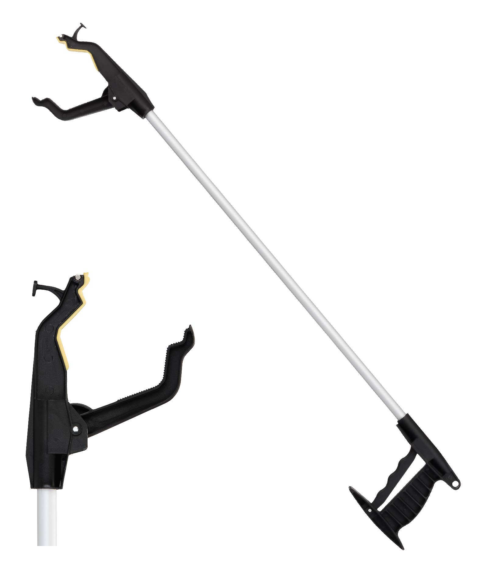 NOVA 32'' Long Reacher, Lightweight Grabber with Wide Gripper, Hook and Magnetic Tip, Rotating Easy Grip Handle by NOVA Medical Products