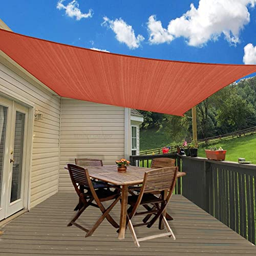 SUNNY GUARD 9'10'' x 13' Terra Rectangle Sun Shade Sail UV Block