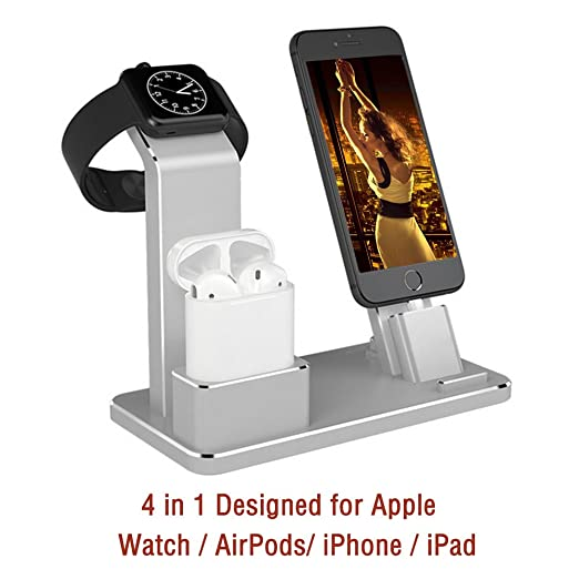 16 opinioni per airpods iWatch Charging Stand tzomsze 4in 1airpods Accessories airpods Stand