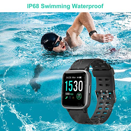 Willful Smart Watch for Android Phones Compatible iPhone Samsung IP68 Swimming Waterproof Smartwatch Sports Watch…