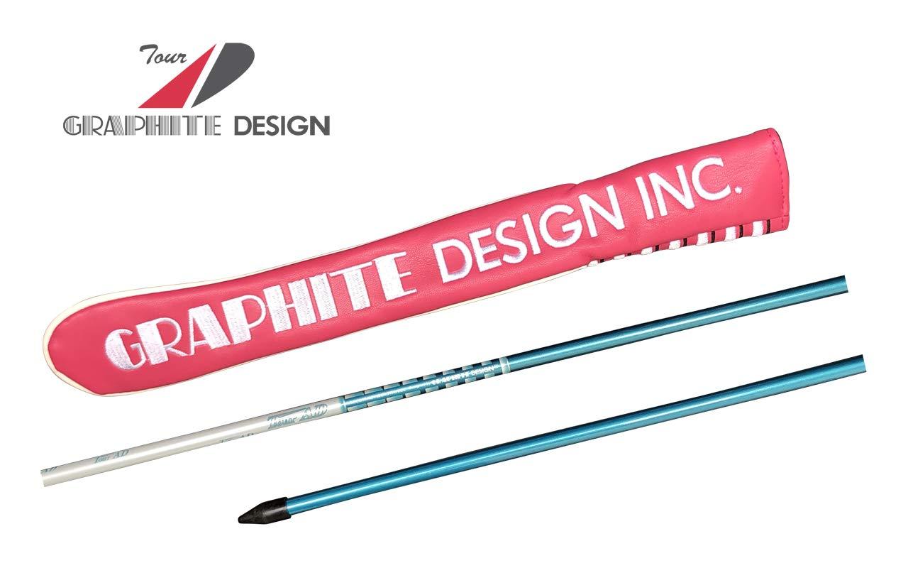 グラファイトデザイン アライメントスティック1本&カバー(2019年ツアー支給モデル ピンク) ブルーシルバー