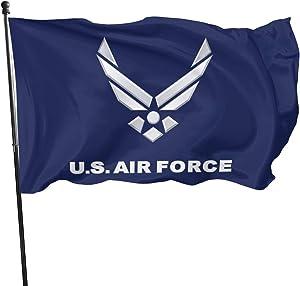 U.S. Air Force Veteran Flag 3x5 FT Outdoor Banner Garden House Home Decor Flag Fade Resistant