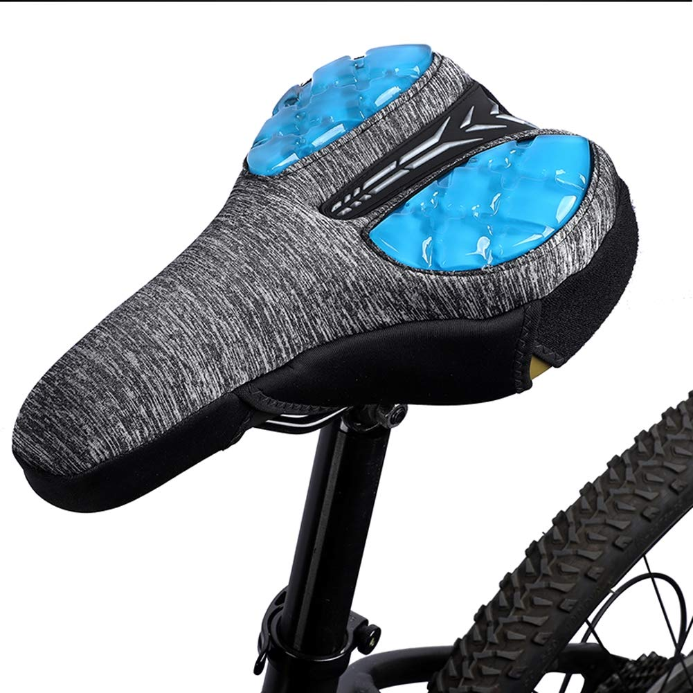 Bike Saddle Comfortable Soft Cushion Seat Cover Riding Cover Silicone Breathable
