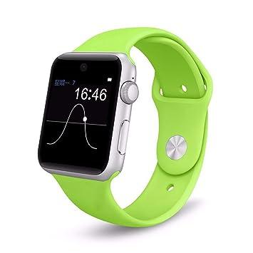WMWMY Reloj Inteligente Teléfono Móvil Bluetooth 4.0 con Tarjeta ...