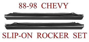 99-06 LEFT Chevy Silverado GMC Sierra Slip On Rocker Panel Ext Extended Cab LH