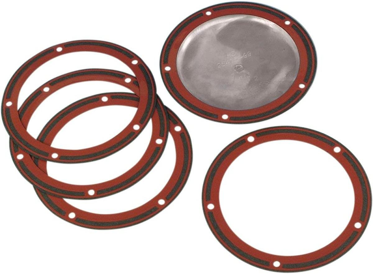 James Gasket 25416-99-X Derby Cover Gasket .030in with Silicone