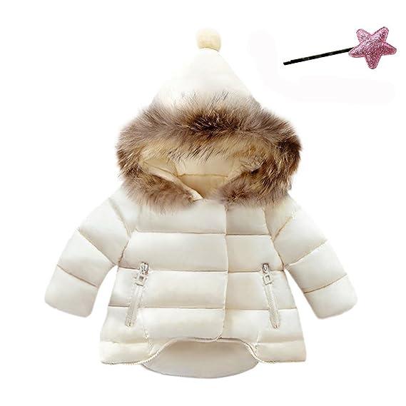 Manteau chaud fille 3 ans