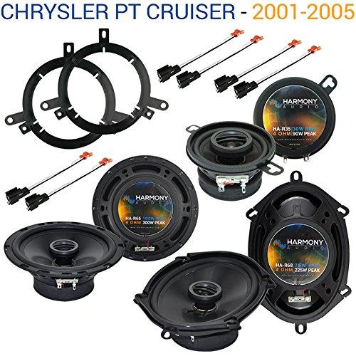 Adapter Chrysler Pt Cruiser - Fits Chrysler PT Cruiser 2001-2005 OEM Speaker Upgrade Harmony Speakers Package New