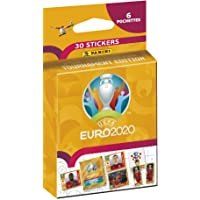 UEFA Euro 2020 Sticker 2021 Tournament Edition Blister 6 hoezen