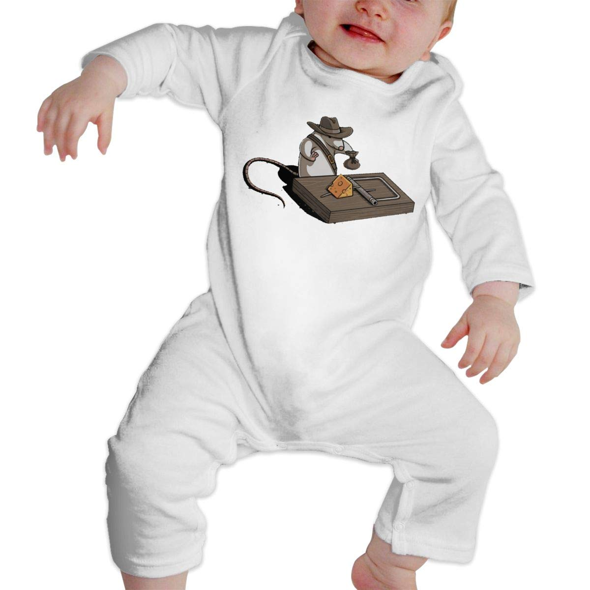 Mouse Newborn Baby Boy Girl Romper Jumpsuit Long Sleeve Bodysuit Overalls Outfits Clothes