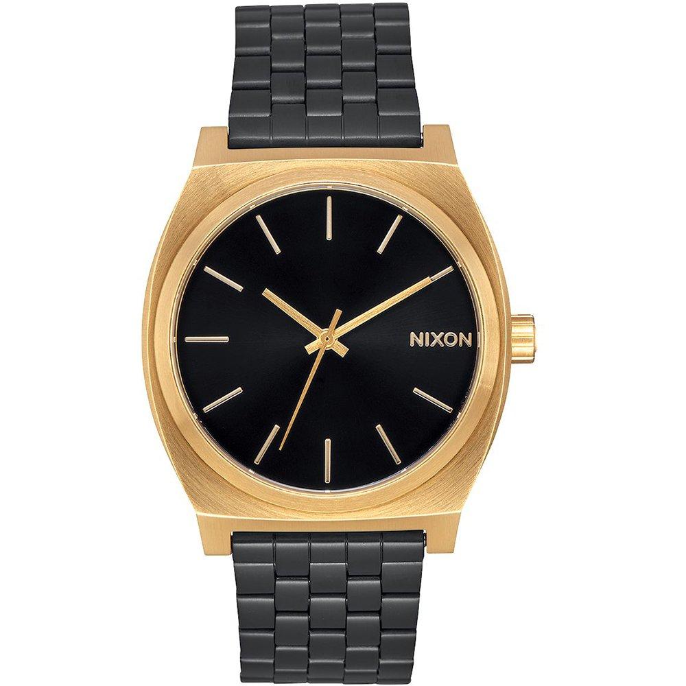 TALLA One Size. Nixon A045-1604-00 - Reloj para Mujer Time Teller 37 mm, Oro/Negro